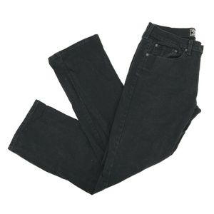 Levi's Mens Relaxed Straight Leg Jeans Sz 38 Black
